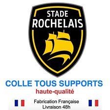 Stickers autocollant Stade Rochelais RUGBY, plusieurs tailles, super prix