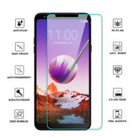 Genuine 2.5D 9H Premium Safe Tempered Glass Screen Protector Film for LG Stylo 4