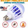 E27 Light Zapper LED Light Bulb Bug Mosquito Fly Insect Killer Bulb Lamp -USA