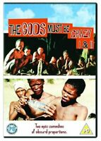 The Gods Must Be Crazy / Gods Must Be Crazy 2 [1980 / 1989) [DVD][Region 2]