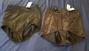 Black Panty Girdle Size 2XL by Flexees and Bali Shapewear Lot of 2 NWT