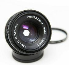 Pentacon Auto Multi Coating 1.8/50mm Lens with Kenko skylight 49mm filter