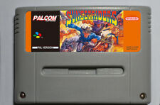 Sunset Riders for Super Nintendo SNES PAL English Tested and Works
