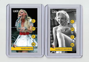 Marilyn Monroe rare Chew #'d 3/3 Tobacco card no. 572