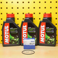 BMW F 650/St Oelwechselset Aceite Mahle Filtro de Aceite Sellos motul 5100 10w40