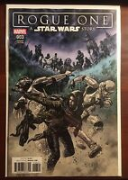 Star Wars Rogue One issue #3 1:10 Duncan Fegredo Variant NM 1st Print Marvel