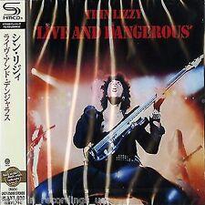 THIN LIZZY - LIVE AND DANGEROUS - JAPAN JEWEL CASE SHM - CD