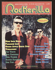 ROCKERILLA 179-180/1995 ROCK CINEMA THERAPY? DIAFRAMMA BILL BRUFORD VIBRASONIC