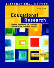 Educational Research (Planning, Conducting, and Evaluating Quantitative and Qua