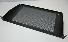 "1U 19"" Vented Rack Mount Shelf for Audio Racks / Computer Networking Racks"