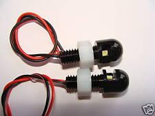 Jeep Wrangler TJ CJ JK  Black LED License Plate Bolt Lights