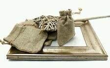 300 Hessian Favour Bags for Weddings or Parties & More.