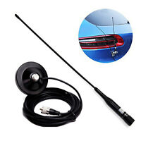 R2 PL259 UHF VHF 144/430MHz Dual Band Male Ham Mobile Antenna Magnetic Mount Set