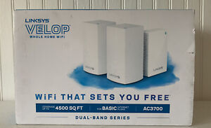 Linksys VELOP Whole Home Wi-Fi System Dual band series, AC3700