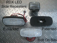 RDX LED CLEAR Side Repeaters Range Rover P38 1994 to 2001 4.0 4.6 V8 2.5DSE