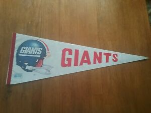 Vintage 1980's New York Giants NFL Pennant