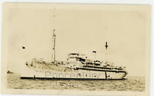 Pre WW2 1930s Vintage Photograph US Navy Ship USS Relief at Sea Photo