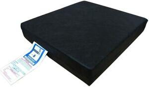Pressure Relief Memory Foam Wheelchair Seat Pad Support Chair Vinyl Cushion UK