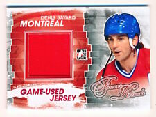 2012-13 ITG Forever Rivals Denis Savard Game Used Jersey Red SP /130