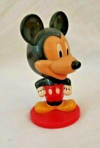 Disney MICKEY MOUSE BOBBLEHEAD Figure, Nodder Toy, Kellogg's, Walt,World,Resort
