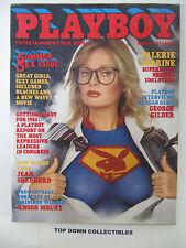 Playboy Vintage Magazine  August 1981  Debbie Boostrom   POTM
