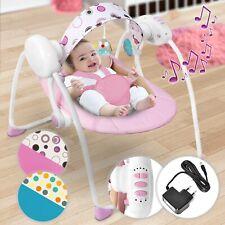 Infantastic® Babywippe Babyschaukel Schaukelwippe Babytrage Musik Babywiege Lieg