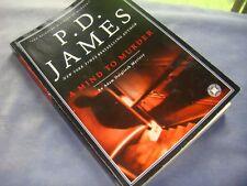 1991 paperback book P.D. James A MIND TO MURDER Adam Dalgliesh