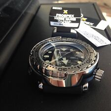 NEW! Seiko SBBN033 MarineMaster Professional 300M Diver Quartz Mens Watch 008