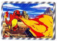 POKEMON TV TOKYO JR KIKAKU 1997 RV 3D N° 004 CHARMANDER SALAMECHE
