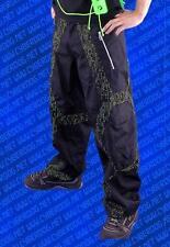 Cyberdog Grid skinny micro pants trousers matrix print goth cyber raver S