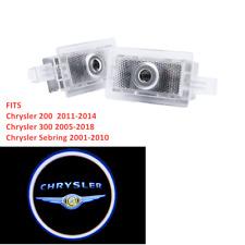 2X LED Courtesy Car Door Projecor Shadow Lights For Chrysler 200 300 Sebring