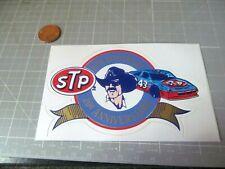 STP RICHARD PETTY RARE 20TH ANN BILINGUAL Sticker Decal ORIGINAL VINTAGE