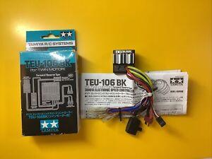 Tamiya TEU-106BK Esc For Twin Motor,clod..txt..ect.with Deans..