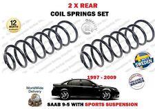Per Saab 95 9-5 + AERO Saloon sospensioni sportive 1997-2009 NUOVE 2x Set molle a spirale