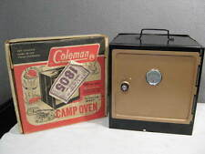 vintage Coleman CAMP OVEN fits on top of Gas Camping Stove ~ NICE CONDITION ~