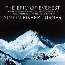 """SIMON FISHER TURNER """"Epic of Everest"""" Limited Edition Deluxe Vinyl with bonus CD"""