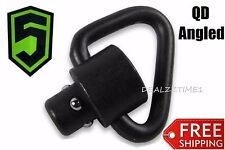 Phase 1 NEW QD Angled SWIVEL Loop Quick Disconnect sling PUSH Button CLASH MASH