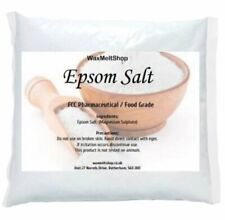 Epsom Salts Magnesium Sulphate 100% Organic FFC Grade In Resealable Bags