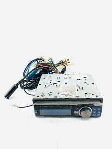 6(#8) Used Genuine Alpine CDA-9886 CD PlayerStereo USB AUX with Wiring Harness