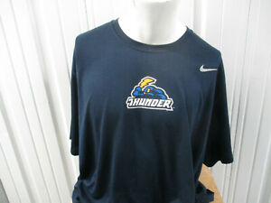 VINTAGE NIKE TRENTON THUNDER 3XL BLUE DRI-FIT T-SHIRT PREOWNED EXCELLENT