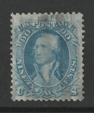 USA 1861 Scott # 72 well centeredvf used