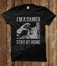 T-Shirt Im A Gamer Videogames Retro YouTube N64 bit Console Nerd Geek Uomo