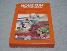 Atari 2600, HOME RUN, cartridge with box and manual CIB COMPLETE