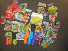 Lot Of 31 Assorted Waterguns, Beach Balls, Assorted Pool Toys