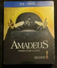Amadeus Blu-ray Steelbook European Region-Free Import Limited Edition New!
