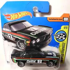 Free safe from 6) Hot Wheels '73 BMW German 3.0 CSL Castrol Race Kult Car (H236
