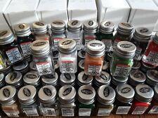 Testors Enamel Paint Set - FLAT COLOR PAINT SET - 18  BOTTLES - NEW & FRESH