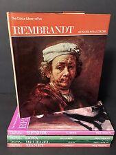 Colour Color Library of Art Bundle Lot Paul Hamilyn Rembrandt Renoir Goya