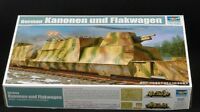 Trumpeter 01511 1/35 German BP-42 Kanonen & Flakwagen