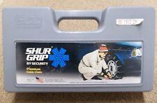 "Shur Grip 1912 cm Passenger Car Tire Traction Cables Snow Chains USA 13"" 14"" 15"""